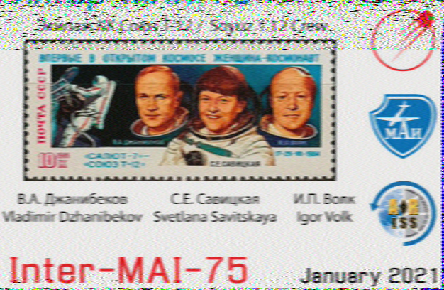 International Space Station SSTV part 2